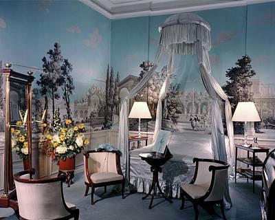 Mural Photograph - Marcel Rochas' Bedroom by Andr? Kert?sz