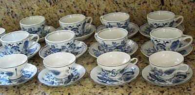 Photograph - March Of The Porcelain Teacups by Ron Davidson