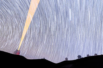 Keck Photograph - March Of The Stars by Jason Chu