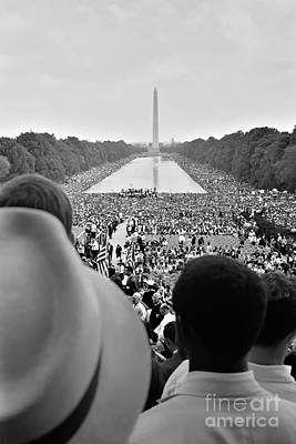 1963 Photograph - March On Washington For Jobs And Freedom by Celestial Images