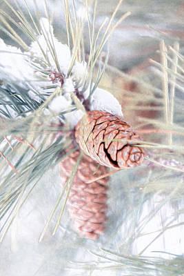 March Snow Cones Art Print by Bill Tiepelman