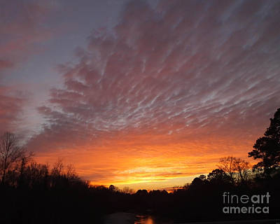 Photograph - March Sunset by Lizi Beard-Ward