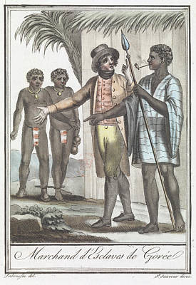 Slaves Photograph - Marchand D' Esclaves De Goree by British Library