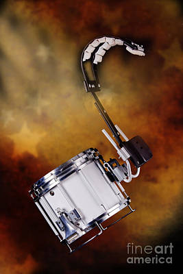 Photograph - Marching Band Snare Drum Photograph In Color 3329.02 by M K Miller