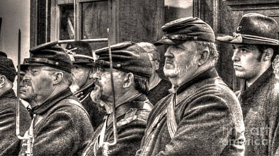 Candid Digital Art - Marching Orders by William Fields
