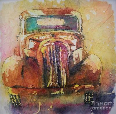 Painting - Marcias Truck by Carol Losinski Naylor