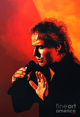 Holland Painting - Marco Borsato by Paul Meijering