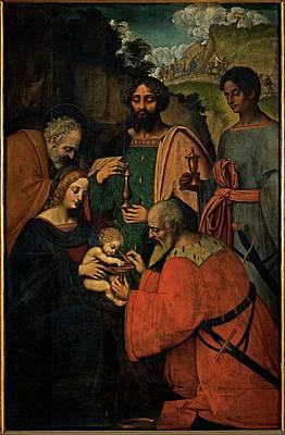 Marco Doggiono , Giovanni Agostino Da Art Print by Everett