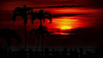 Marco Island Sunset 59 Art Print
