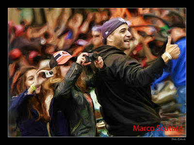 Photograph - Marco Scutaro World Series 2012 by Blake Richards