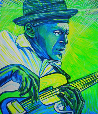 Marcus Miller Is Playing For Indigo People Original by Lola Lonli