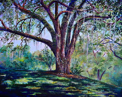 Marcus Oak Art Print