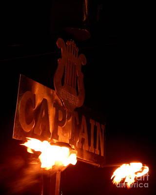 Photograph - Mardi Gras 2014 Orpheus Flambeau by Michael Hoard