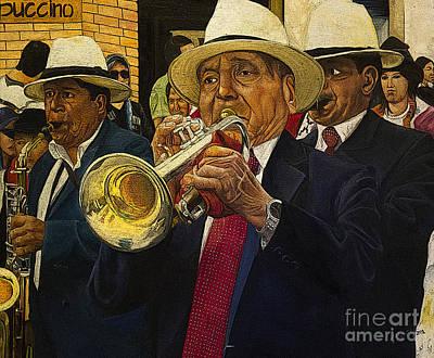 Saxophone Photograph - Mardi Gras by Al Bourassa