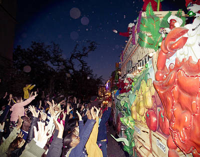Mardi Gras Atmosphere Art Print by Ray Devlin