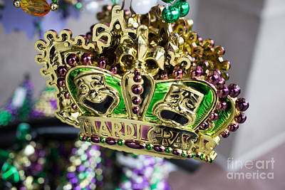 Necklace Photograph - Mardi Gras Beads by Edward Fielding