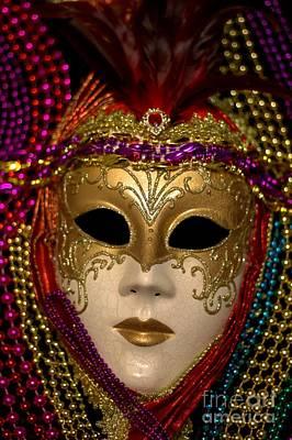 Photograph - Mardi Gras Eight by Ken Frischkorn