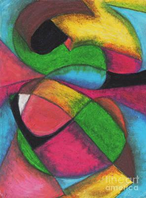 Mardi Gras Art Print by Ellen Howell