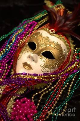 Photograph - Mardi Gras Five by Ken Frischkorn