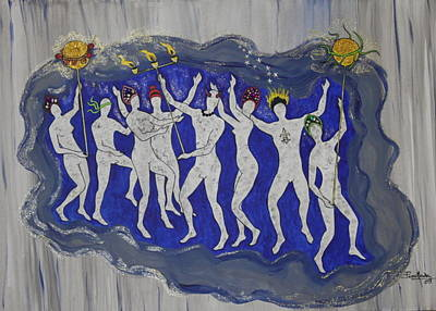 Painting - Mardi Gras by Jorge Parellada