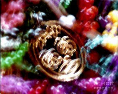 Purely Purple - New Orleans Mardi Gras Madness In Louisiana by Michael Hoard