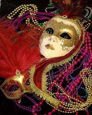 Photograph - Mardi Gras One by Ken Frischkorn