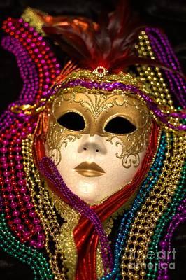 Photograph - Mardi Gras Six by Ken Frischkorn