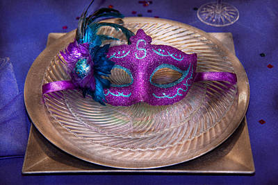 Savad Photograph - Mardi Gras Theme - Surprise Guest by Mike Savad