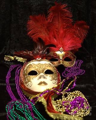 Photograph - Mardi Gras Two by Ken Frischkorn