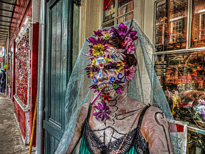 Photograph - Mardi Gras Voodoo In New Orleans 2 by Louis Maistros