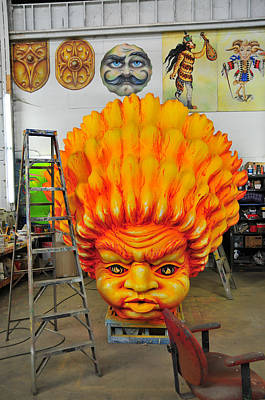Photograph - Mardi Gras World Prop Five by Brian Hoover