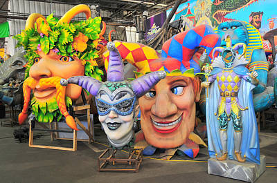 Photograph - Mardi Gras World Prop Four by Brian Hoover