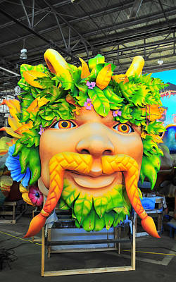 Photograph - Mardi Gras World Prop One by Brian Hoover