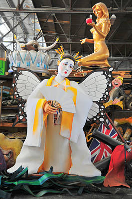Photograph - Mardi Gras World Prop Six by Brian Hoover