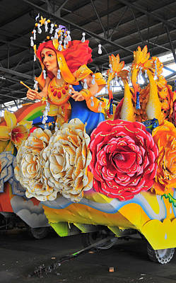 Photograph - Mardi Gras World Prop Three by Brian Hoover