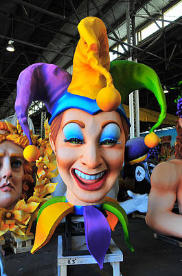 Photograph - Mardi Gras World Prop Two by Brian Hoover