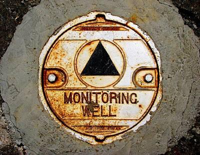 Photograph - Mare Island Manhole Mandala by Ben Freeman