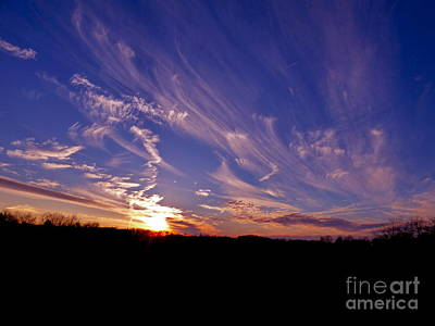 Photograph - Mares' Tails by Jean Wright