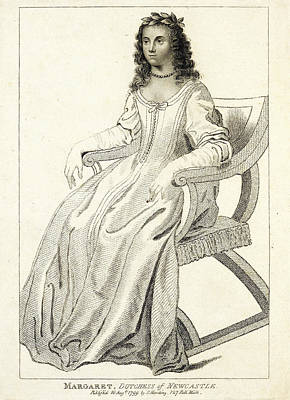 Margaret Cavendish Art Print by British Library