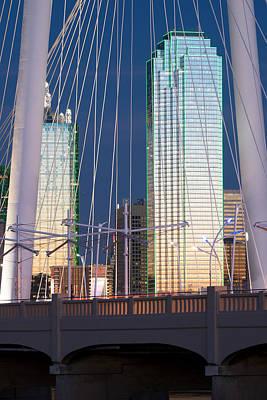 Photograph - Margaret Hunt Hill Bridge 022115 by Rospotte Photography