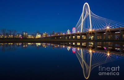 Reflective Photograph - Margaret Hunt Hill Bridge by Inge Johnsson