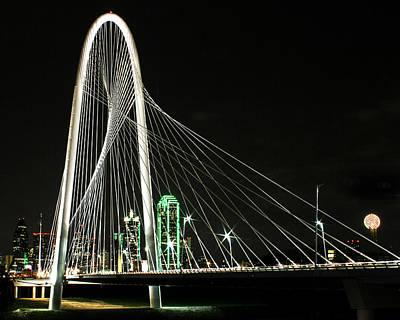 Photograph - Margaret Hunt Hill Bridge by Jeff Mize