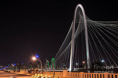 Dallas Photograph - Margaret Hunt Hill Bridge by Tod and Cynthia Grubbs