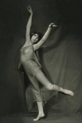 Dance Photograph - Margaret Severn Posing by Alexander Milne