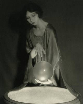 Dance Studio Photograph - Margaret Severn With An Orb by Alexander Milne