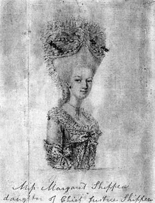 Margaret Shippen Arnold (1760-1804) Art Print by Granger