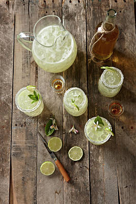 Photograph - Margaritas by Lew Robertson