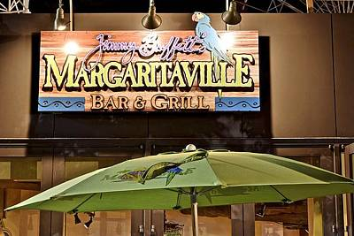 Storefront Artist Photograph - Margaritaville by Frozen in Time Fine Art Photography