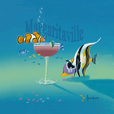 Painting - Margaritaville by Kenneth F Aunchman
