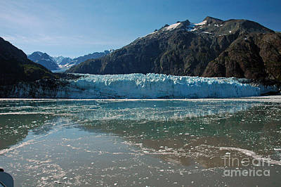 Photograph - Margerie Glacier - Glacier Bay Ak by Cindy Murphy - NightVisions